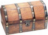 Dřevěná truhla - pokladnice